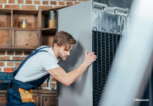 Why Outside of Refrigerator is hot
