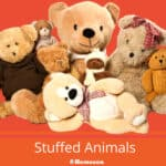 What Are Stuffed Animals Made Of