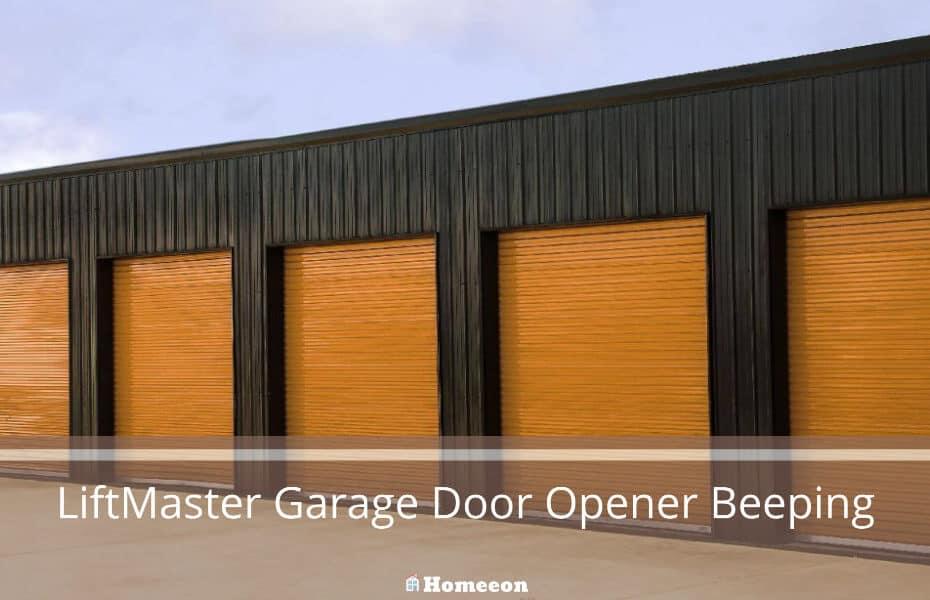 LiftMaster Garage Door Opener Beeping