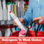 Do You Need Detergents To Wash Clothes?