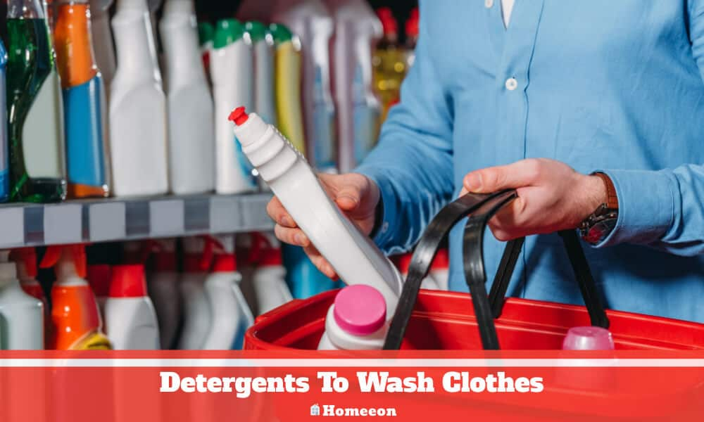 Detergents To Wash Clothes