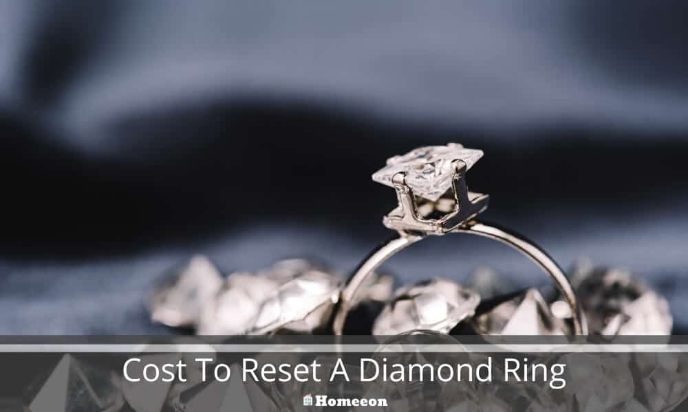 Cost To Reset A Diamond Ring