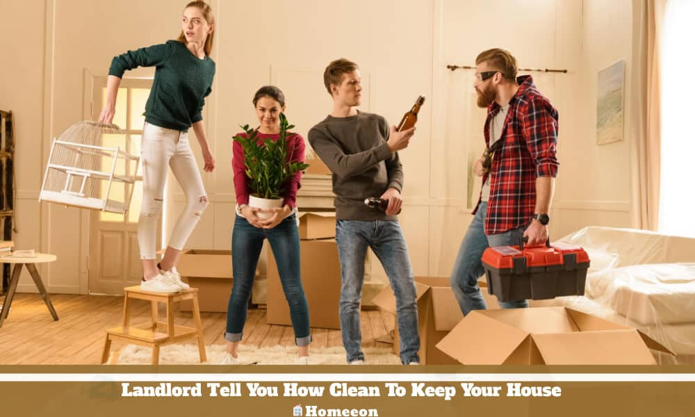 Landlord Tell You How Clean To Keep Your House