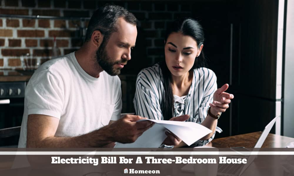 Electricity Bill For A Three-Bedroom House