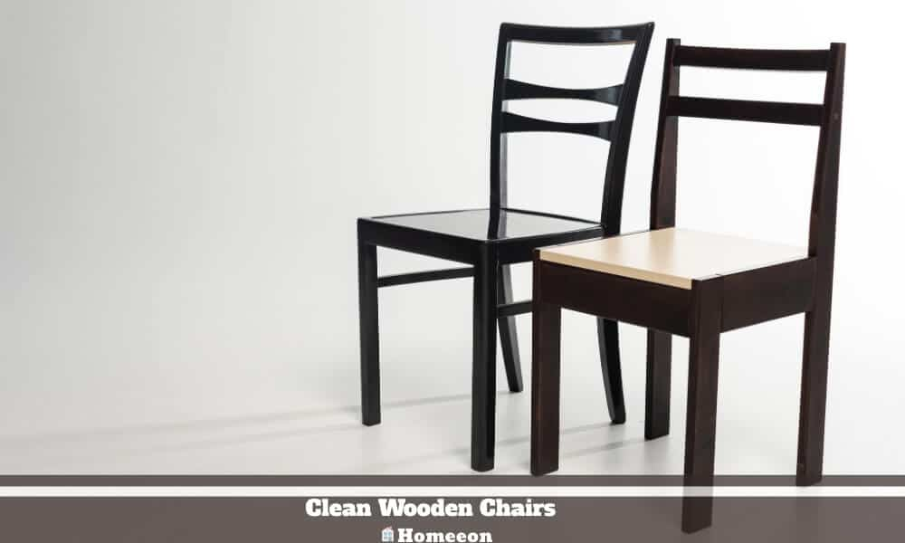 Clean Wooden Chairs