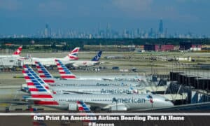 Print An American Airlines Boarding Pass At Home