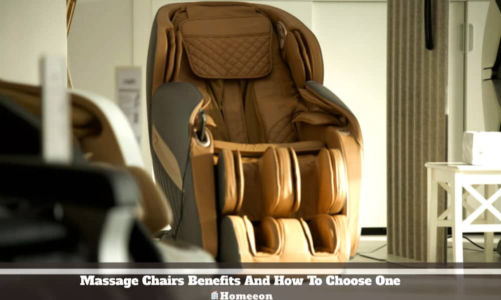 Massage Chairs Benefits And How To Choose One