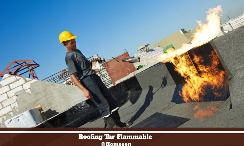 Roofing Tar Flammable