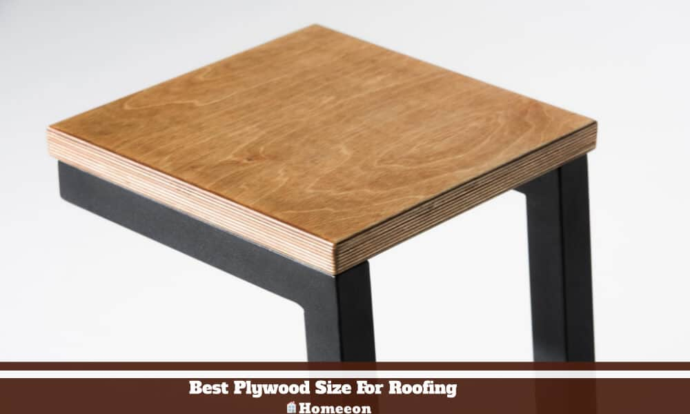 Plywood Size For Roofing