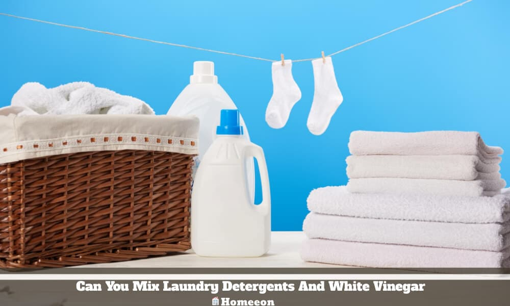 Laundry Detergents And White Vinegar