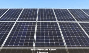 Solar Panels As A Roof