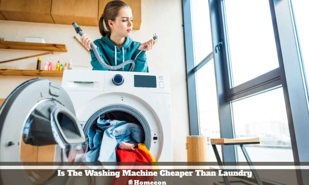 Is The Washing Machine Cheaper Than Laundry