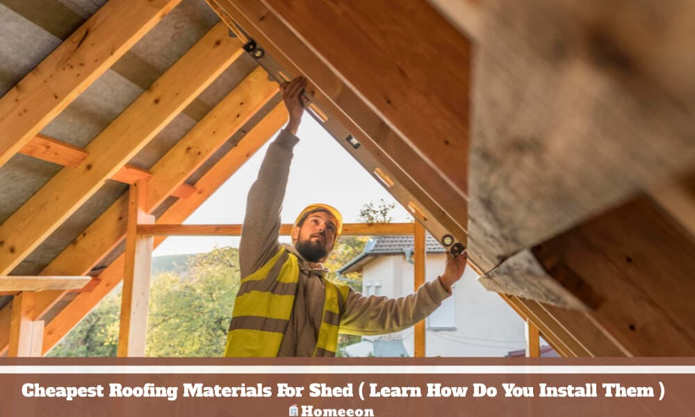 Roofing Materials For Shed