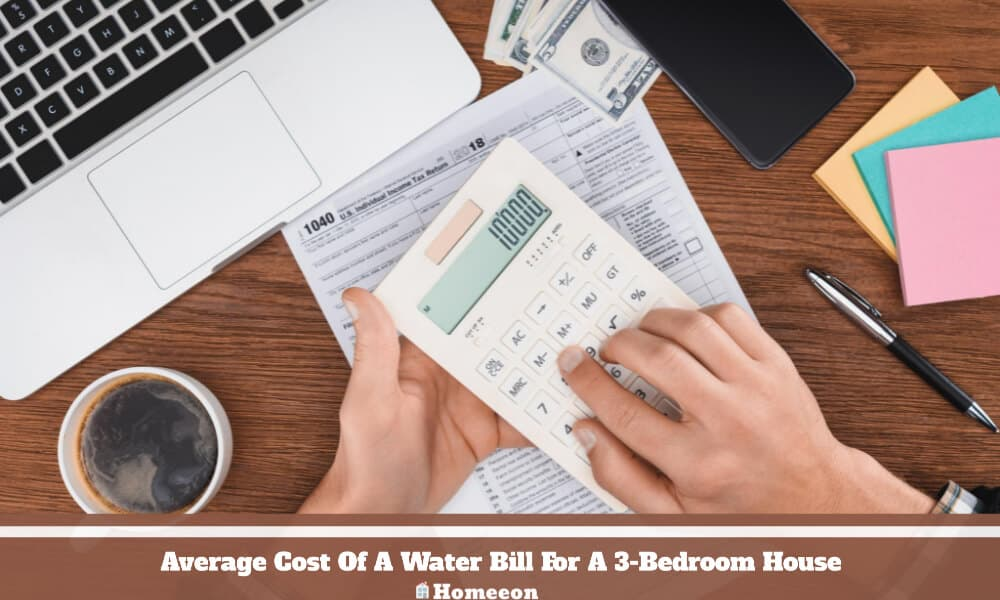Water Bill For A 3-Bedroom House