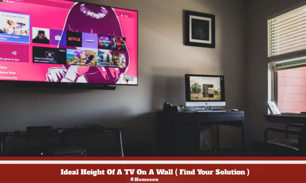 Height Of A TV On A Wall