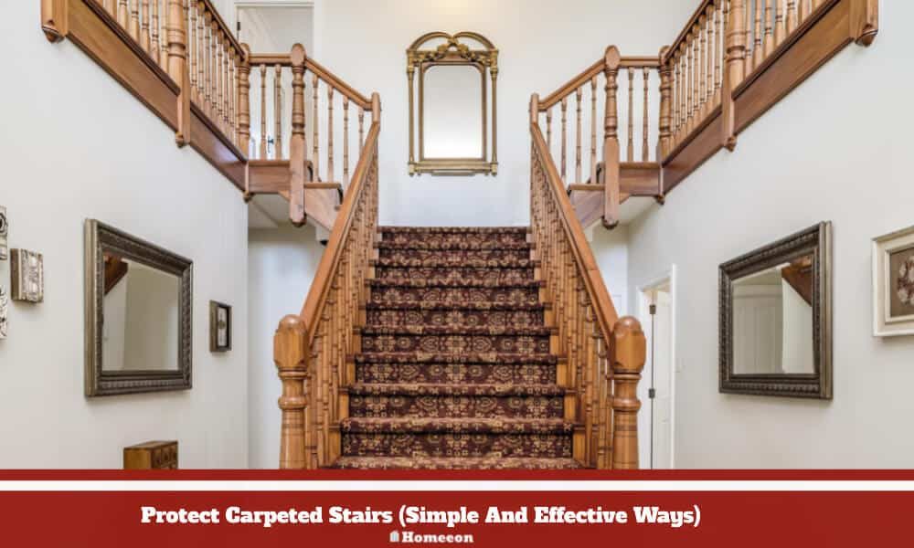 Protect Carpeted Stairs