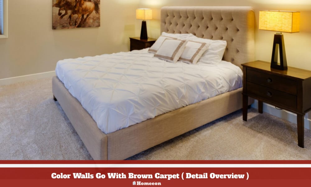 Color Walls Go With Brown Carpet