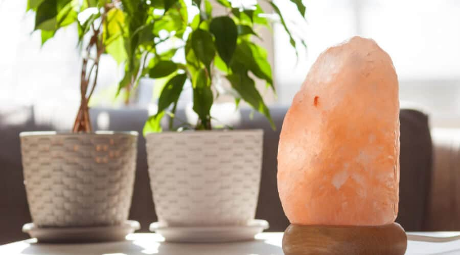 What Are Himalayan Salt Lamps Made Of