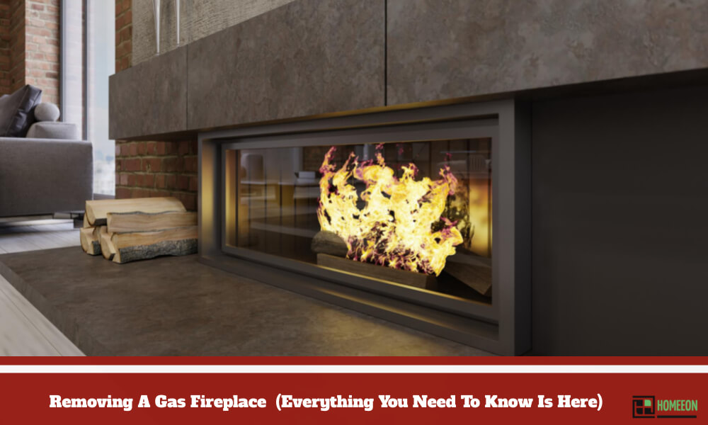 Removing A Gas Fireplace