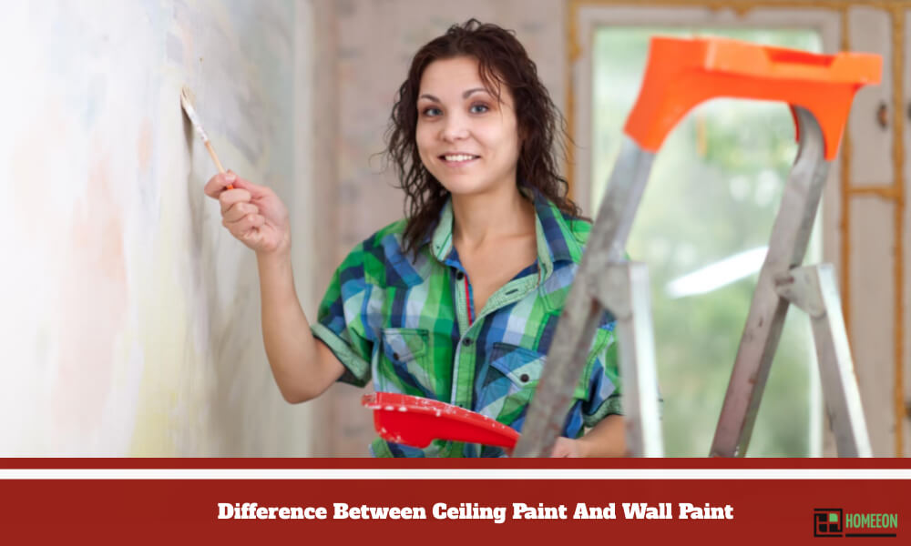 Difference Between Ceiling Paint And Wall Paint