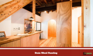 Stain Wood Paneling