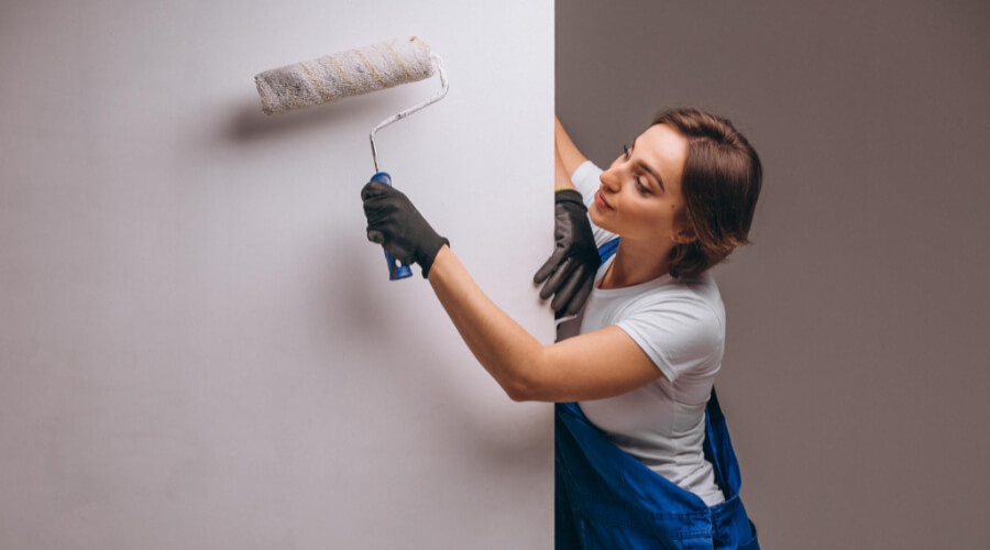 Definition Of Ceiling Paint And A Wall Paint: