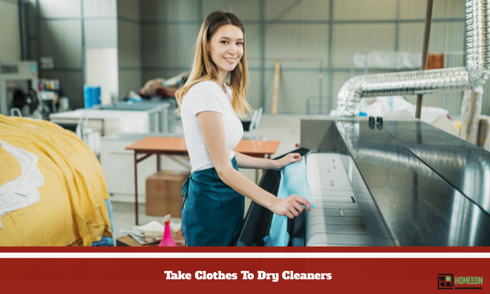 Take Clothes To Dry Cleaners